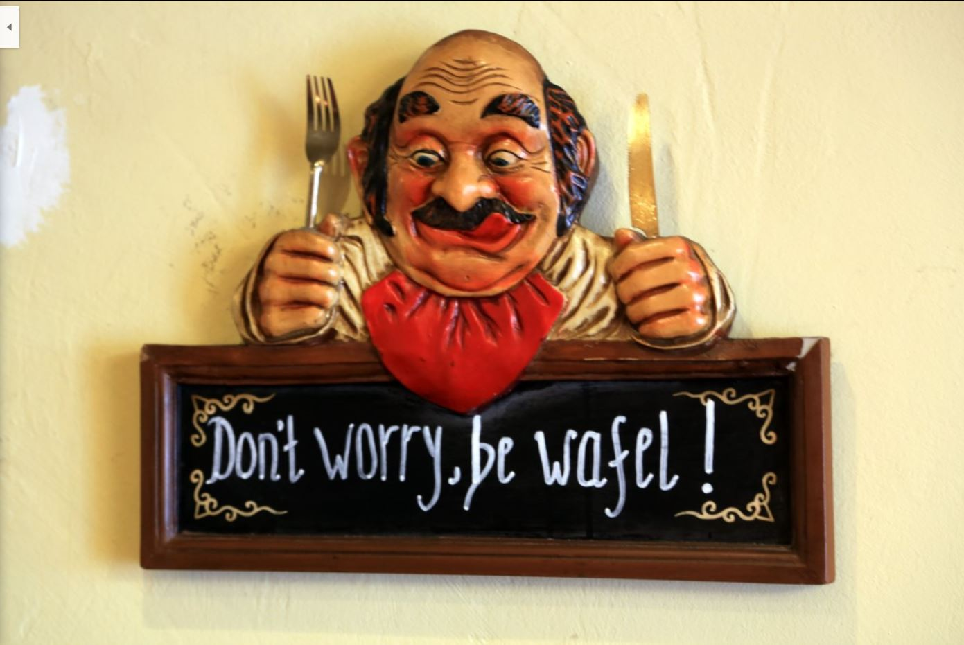 dont worry, be wafel